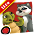 icon for Rowdy Raccoon and the Turtle Who Wanted to Fly is an interactive story book for kids that brings to light that every person is unique and important; written by Donna C. Braymer,  illustrated by Shachi